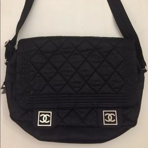 Chanel messenger bag sports line